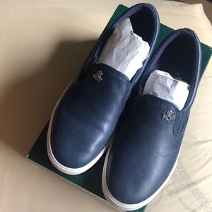 Super Soft Leather Slip On Shoes
